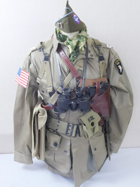 US Paratrooper Captain Uniform kit US Fallschirmjäger Normandie 1944 D-Day