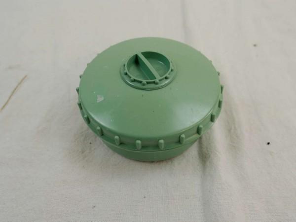 Dose Vorrat Gewürze Salz / Pfeffer / Butterdose / Behälter / Vorratsdose mit Streuer grün