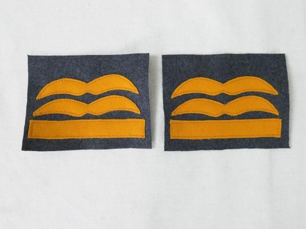 Luftwaffe Dienstgrad Abzeichen GENERALLEUTNANT Sonderbekleidung Knochensack Fallschirmjäger