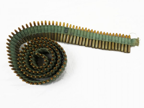 Deko Munitionsgurt Stoffgurt 7,62*63 / .30-06 Springfield delaboriert (9182)