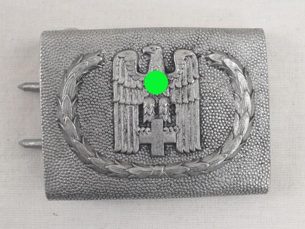 Deutsches Rotes Kreuz Koppelschloss Kasten Wehrmacht Aluminium