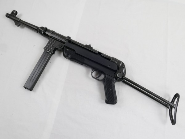 MP40 Maschinenpistole Wehrmacht Deko Modell Filmwaffe antik finish MP 40