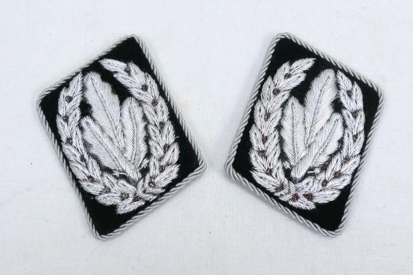 Allgemeine Elite Paar Kragenspiegel Reichsführer SS