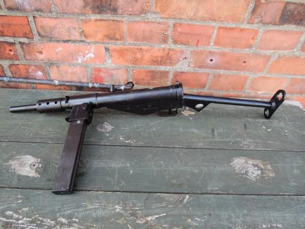 Sten MP MKII Maschinenpistole Deko Modell Filmwaffe