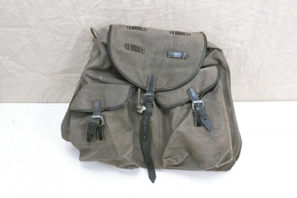 Vintage Rucksack mit Schulter Riemen wie Wehrmacht 1950er Jahre