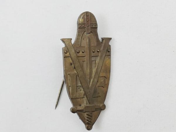 Abzeichen an Nadel LVF Freiwilligen Legion Frankreich Waffen Elite CHARLEMAGNE