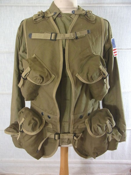 D-Day INVASION US ARMY WW2 Ranger assault vest Normandie 1944 / Landungsweste