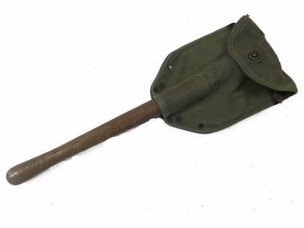 US Army WK2 Klappspaten 1943/44 mit Spatentasche