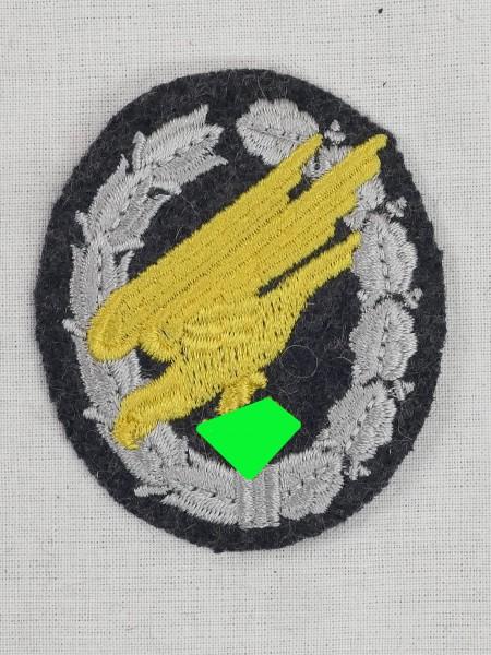 Fallschirmschützenabzeichen gestickt für Fliegerbluse