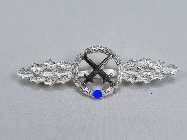 Luftwaffe Frontflugspange Schlachtflieger Stufe Silber