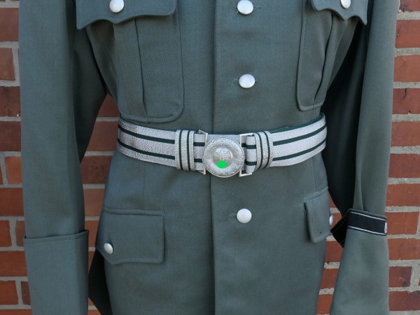 Wehrmacht Parade Feldbinde mit Koppelschloss / Feldbindenschloss