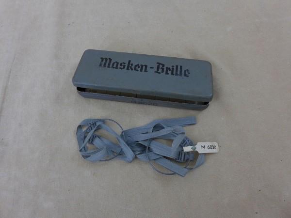 Waffen XX Masken Brille M6020 mit Blech Dose USCHA Max Wolf