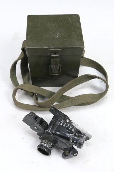 US ARMY WW2 M4 Sight 60mm Mortar & Carrying Case T42 Optik Mörser mit Behälter #2