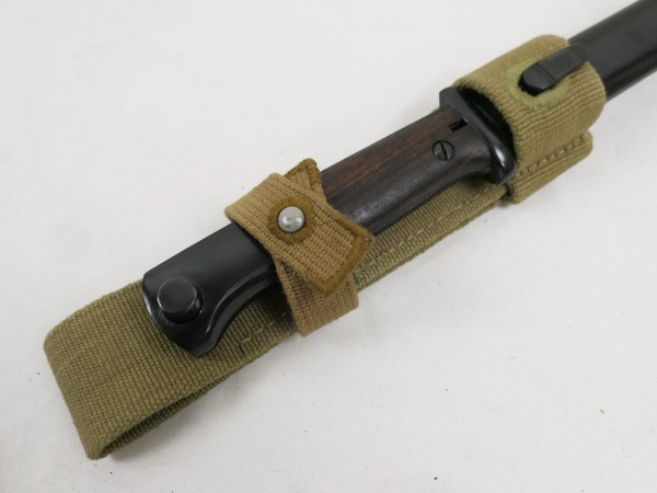 WW2 DAK Koppelschuh K98 Bajonett Tropen Afrika Korps