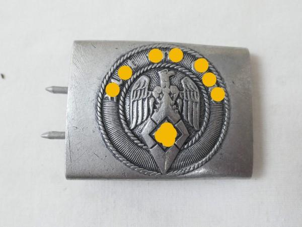 HJ Alu Koppelschloss Hitlerjugend Aluminium
