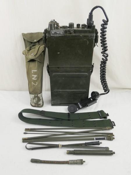 US ARMY FUNKGERÄT VIETNAM RADIO RECEIVER PRC-10 + Zubehör WILLYS JEEP