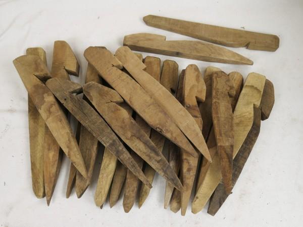 US Army Typ WW2 Holz Häring Zeltpfosten Zeltnagel