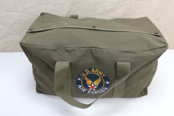 US WW2 Air Force JEEP Cargo Tasche Canvas Kommando Tasche Transporttasche oliv