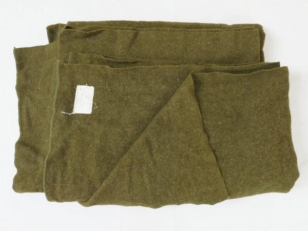 #19/ 1942 Original US ARMY WW2 Wool Virgin Blanket OD Wolldecke Decke WK2