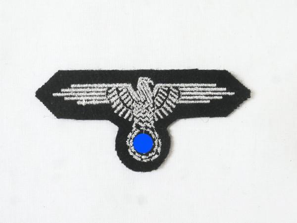 Abzeichen Elite Ärmeladler Silberfaden gestickt Variante für Feldbluse Dienstrock Offizier