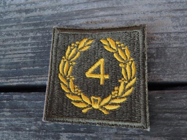 """US Abzeichen Kranz """" 4 """""""