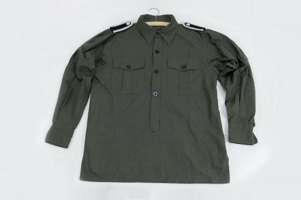 WSS Feldhemd Hemd Unterscharführer mit Schulterklappen Elite Gr.S