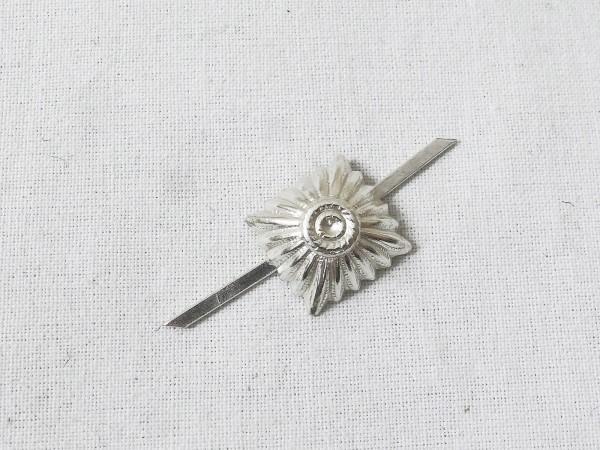 Wehrmacht 17mm Stern Schulterklappen Dienstgradsterne Sterne Pickel Schulterstückauflage silber