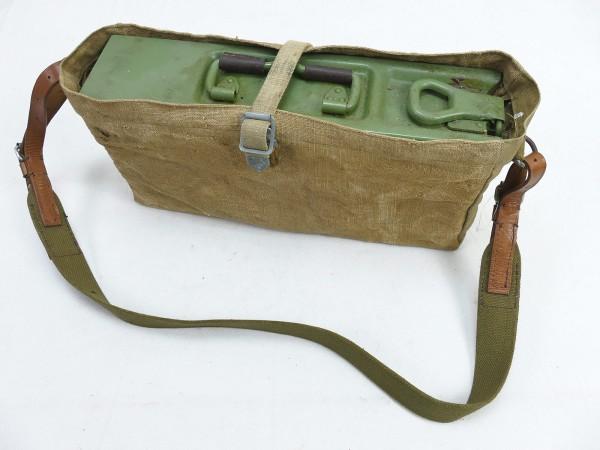 Trage Tasche Transporttasche + Typ Wehrmacht MG34 MG42 MG53 Patronenkasten Gurtkasten