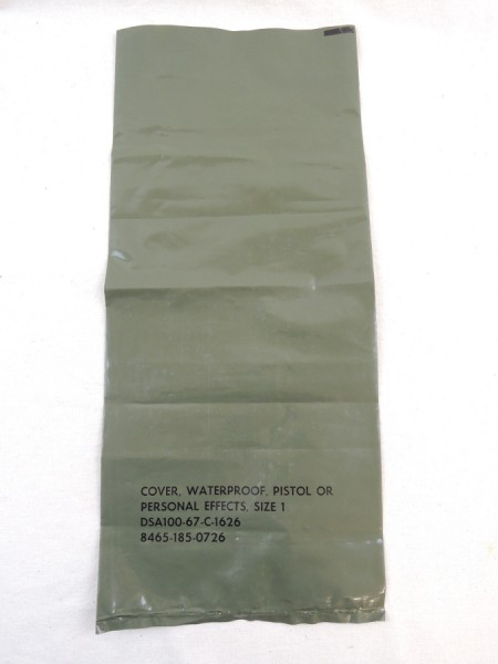 US Army Vietnam cover, waterproof, pistol or personal effects