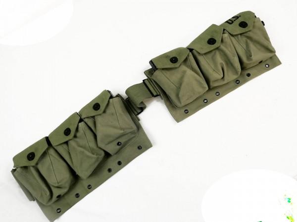 US Army Bar Belt befüllt mit 6x Magazinen browning automatic rifle