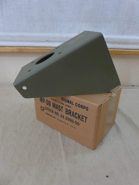 US Mast Bracket Halterung Halter MP-50 Ohio Brass ANTENNENFUSS Antenne Funk Jeep