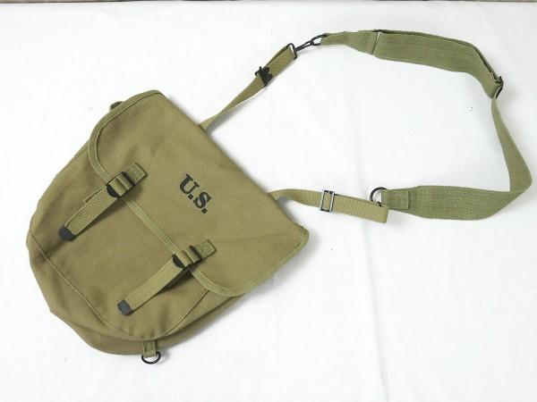 US WW2 M1936 MUSETTE BAG Field Tasche Kampftasche Canvas + Riemen