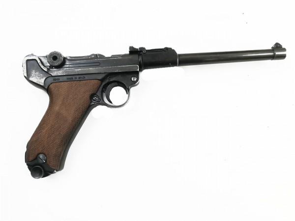 Pistole P08 Ari Artillerie Deko Modell Filmwaffe Denix
