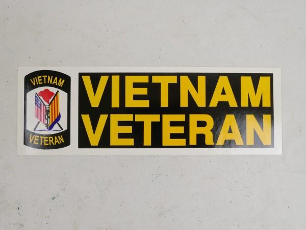 US Vietnam Veteran Aufkleber / Sticker