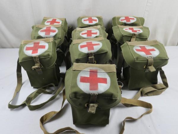 WW2 GB Britische Sanitäter Tasche Rot Kreuz Red Cross bag Medical Man