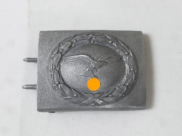 Luftwaffe Koppelschloss Aluminium Hersteller C.T.D.