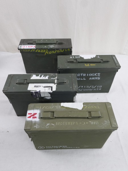 Nato Munitionskiste Munikiste Metall Box CAL.7.62