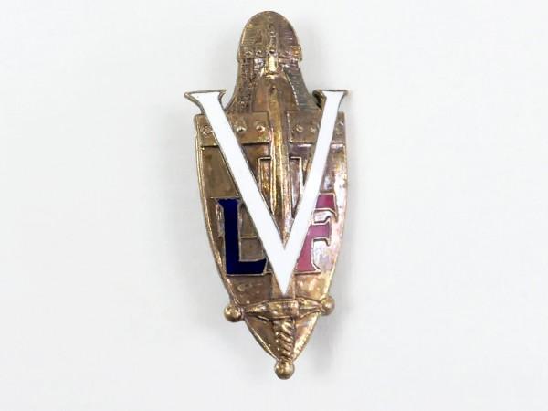 LVF Uniform Abzeichen an Nadel / Freiwilligen Legion Frankreich Waffen Elite CHARLEMAGNE