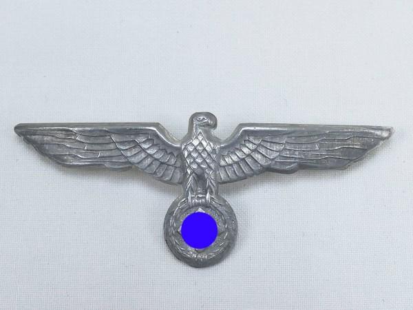 Wehrmacht Mützenadler versilbert Effekten Schirmmütze