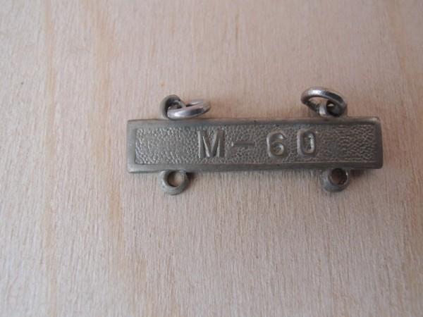 """US Army marksman badge Erweiterung """" M-60 """""""