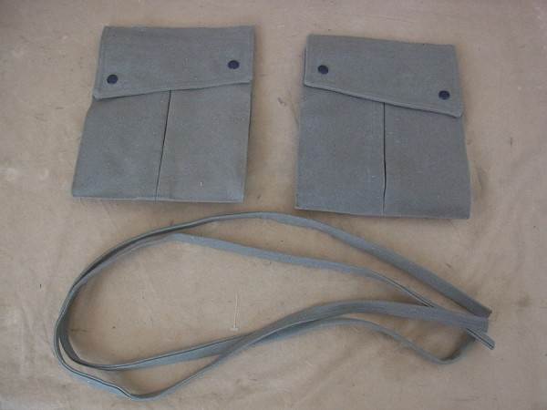 US WW2 Paratrooper Tasche Feldhose / POCKETS POUCHES M43 Rigger Made Trousers