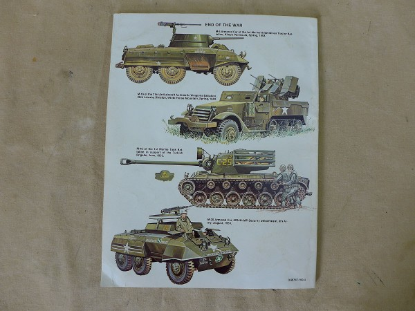 Squadron / Signal Publications ARMOR IN KOREA - A pictoral history by Jim Mesko
