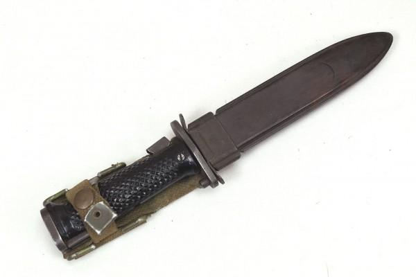 Type US Army Bayonet Knife M6 with M10 scabbard / Kampfmesser Bajonett mit Scheide