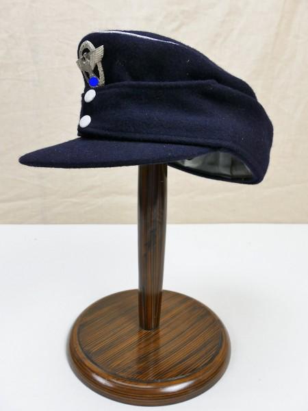 Wasserschutzpolizei Offizier M43 Feldmütze Baschlikmütze M1943 mit Abzeichen