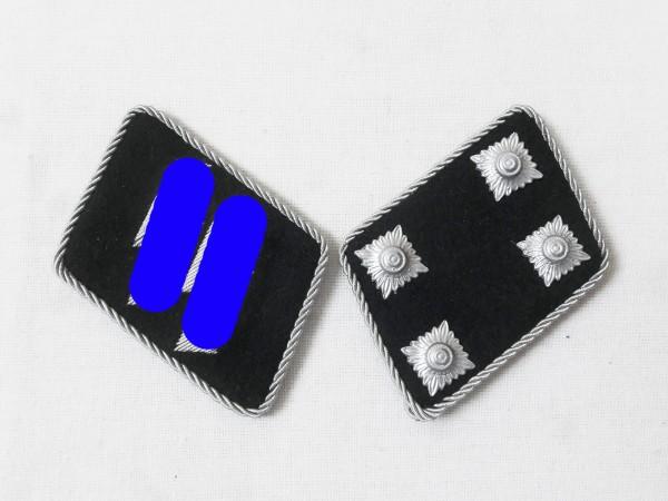 Waffen Elite Kragenspiegel / Sturmbannführer Major , dünne Ausführung TOP!