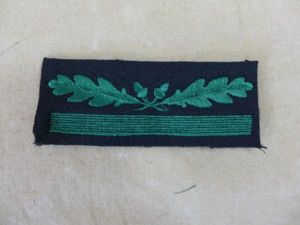 Leutnant WH / SS Dienstgradabzeichen für Tarnbekleidung + Sonderbekleidung / Abzeichen