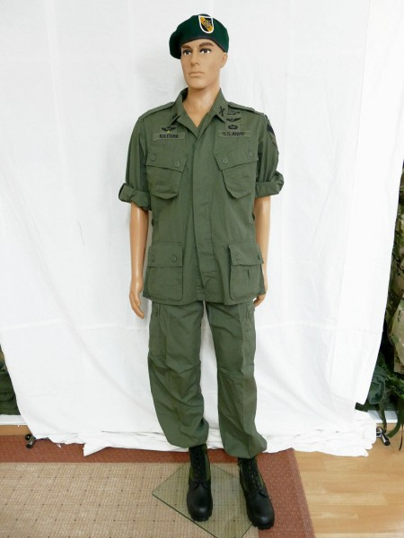 US Army Vietnam Jungle M64 Uniform komplett Special Forces Mike RANGER Kostüm
