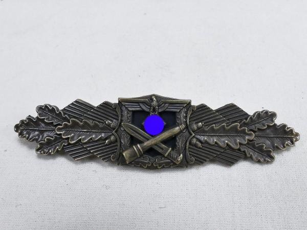 Wehrmacht Nahkampfspange Heer Stufe Bronze