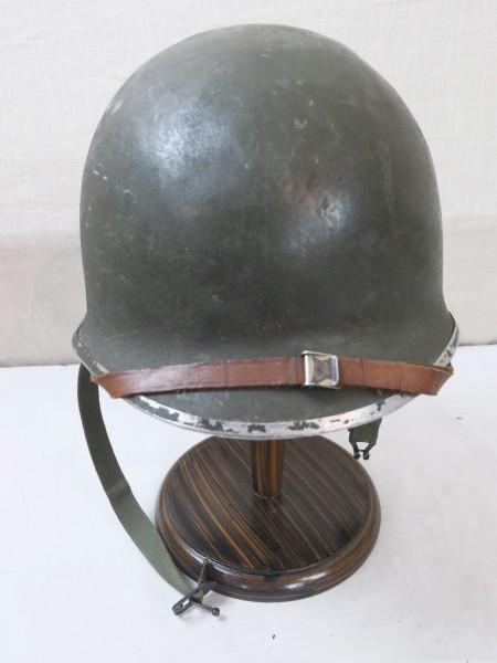 Type WW2 US M1 Helm mit Innenfutter und Kinnriemen