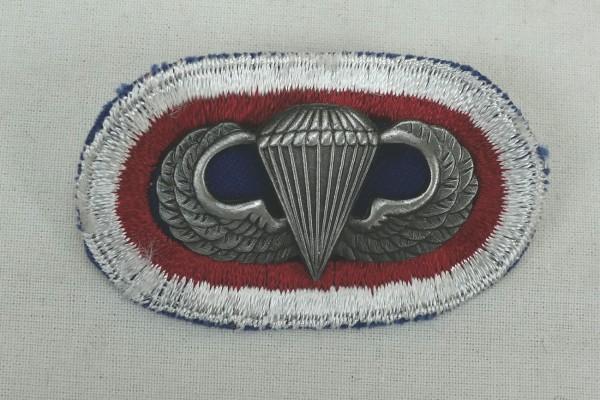 #10 US Airborne Jump Wing oval - Parachute badge Fallschirmjäger Abzeichen Springerabzeichen